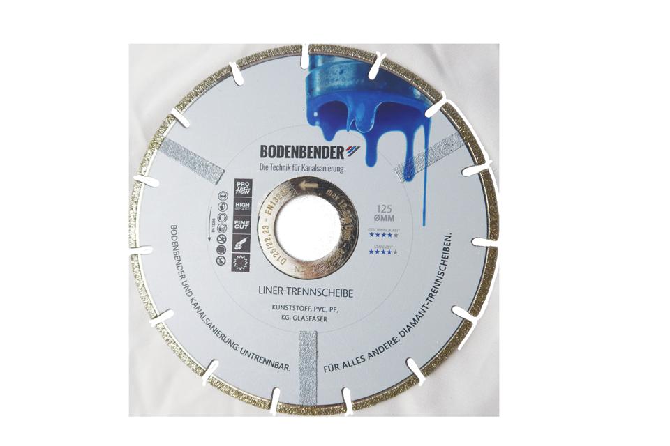Bodenbender cutting disc for Inliner-System