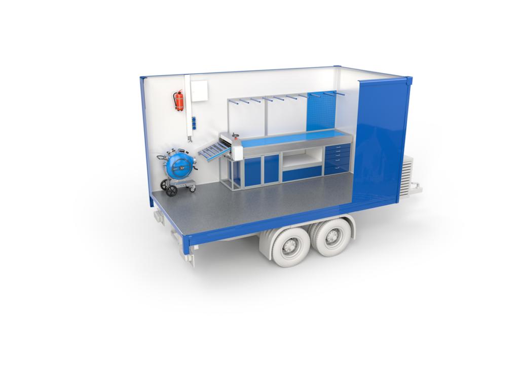 Bodenbender-Vehicle System Renovation trailer