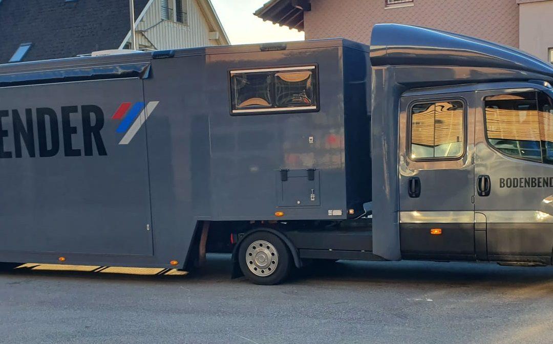 Erste Bodenbender Road-Show in der Schweiz