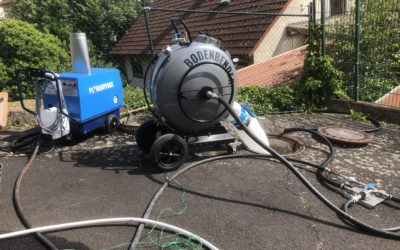 Baustellenbericht: Vorführung der Dampfaushärtung – Kanalsanierungs Blog