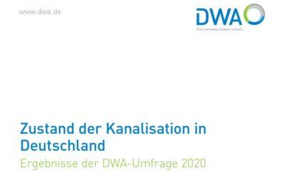 """DWA Umfrage """"Zustand der Kanalisation in Deutschland"""" 2020 – Kanalsanierungs Blog"""