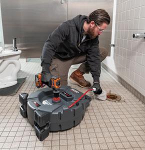 RIDGID K9-204 FlexShaft Bathroom