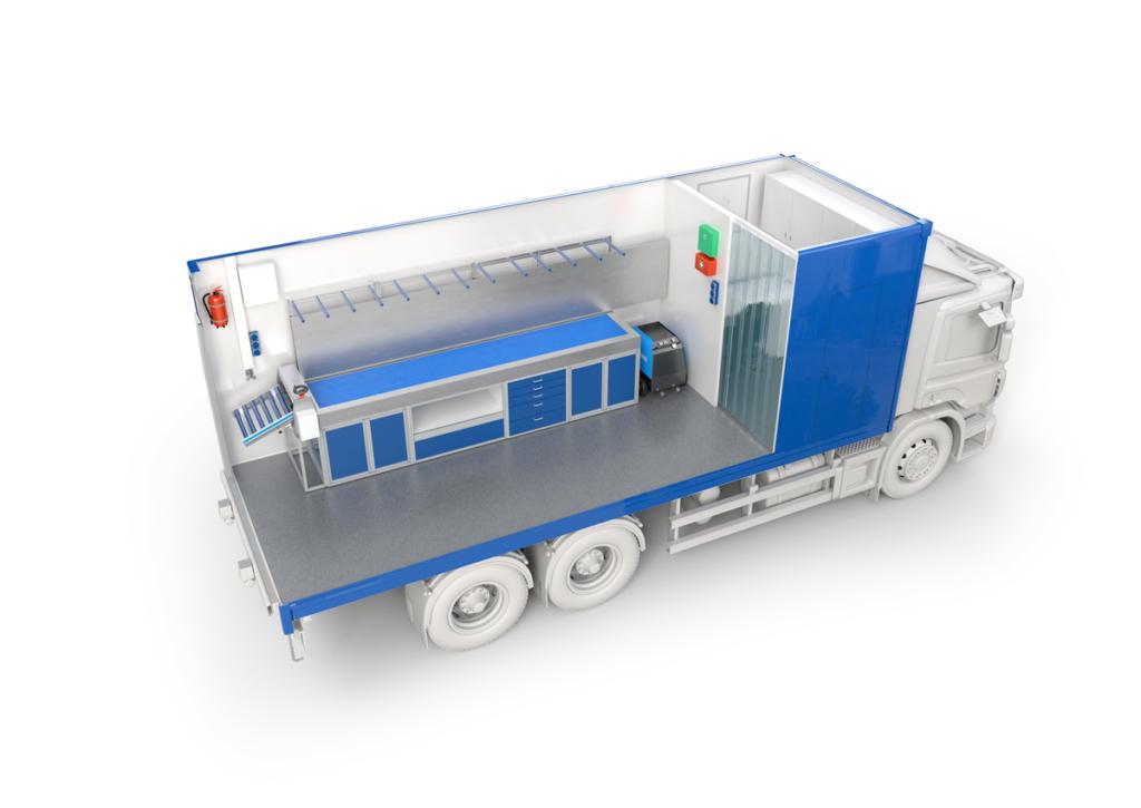 Bodenbender Fahrzeugausbau Sanierungs-LKW