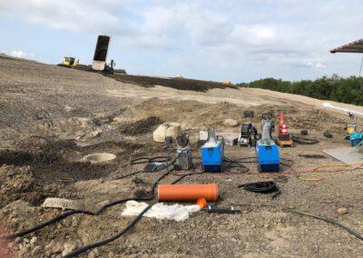 Baustellenbericht Bodenbender Dommel Baustelle