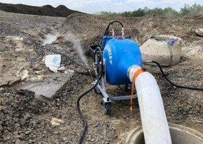 Baustellenbericht Bodenbender Dommel Karbontrommel